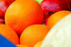 Orange Fruit. Beautiful portrait of Orange fruit Royalty Free Stock Photo