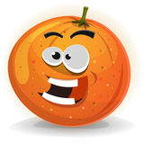 Orange Fruit Character Royalty Free Stock Images