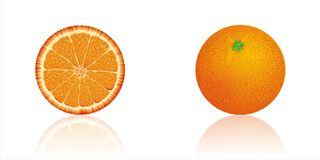 Orange_fruit citrus Royalty Free Stock Images
