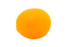 Orange fruit cleaning Stock Photos