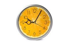 Orange fruit clock Stock Image