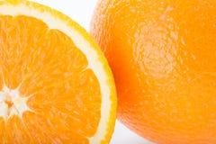 Orange fruit, close up image texture Stock Photo