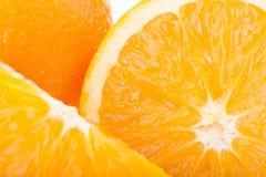 Orange fruit, close up image texture Royalty Free Stock Image