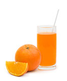 Orange fruit and cocktail Stock Images