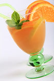 Orange fruit cocktail Royalty Free Stock Photo
