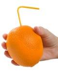 Orange fruit drink Royalty Free Stock Images