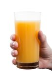 Orange fruit drink Stock Images