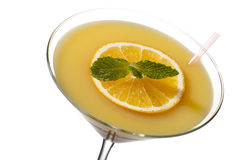 Orange fruit drink Stock Image