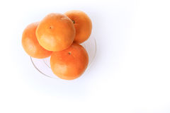 Orange fruit of fortune in chinese new year Stock Photos