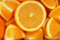 Fresh Orange Fruit Background stock photo