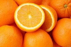 Orange Fruit. Fresh orange fruit cutting and slicing image background royalty free stock images