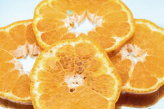 Orange fruit. Fresh oranges fruits isolated on white Stock Photo
