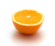 Orange Fruit Half Stock Images
