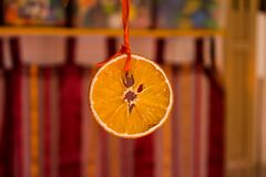 Orange Fruit Hanging Royalty Free Stock Photo