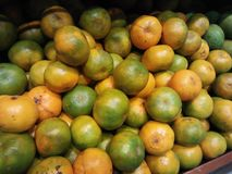 Orange fruit that looks fresh is ready to be sold, buy it at the supermarket royalty free stock photos