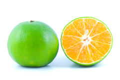 Orange fruit isolated Royalty Free Stock Photos