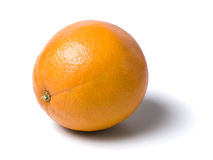 Orange fruit isolated with clipping path Royalty Free Stock Photos