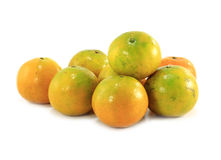 Orange fruit isolated Royalty Free Stock Image