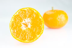 Orange fruit. Isolated on white background Stock Image