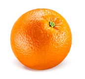 Orange fruit isolated on white Royalty Free Stock Photo