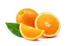 Orange fruit isolated on white background Royalty Free Stock Photo