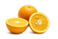 Orange fruit isolated Stock Photography