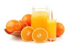 Orange fruit Stock Photography