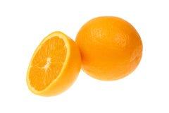 Orange fruit isolated on white background cutout Royalty Free Stock Image