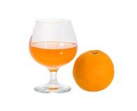 Orange fruit, Isolated on white background Stock Photos