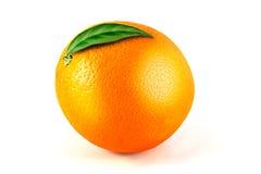 Orange fruit isolated on white Royalty Free Stock Photography