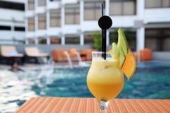 Orange fruit juice beverage Royalty Free Stock Image