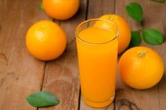 Orange fruit and juice Royalty Free Stock Photo