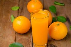 Orange fruit and juice Royalty Free Stock Photography