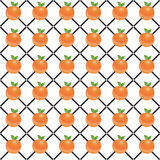 Orange fruit mesh pattern Royalty Free Stock Photo