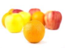 Orange and Fruit mix Stock Images