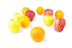 Orange and Fruit mix Royalty Free Stock Photos