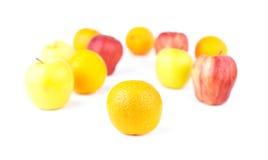 Orange and Fruit mix Stock Photography