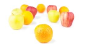 Orange and Fruit mix Stock Image