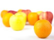 Orange and Fruit mix Stock Photo