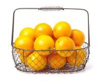 Orange fruit. Isolated on white background royalty free stock photography