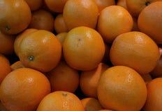 Orange fruit on shelf ,fresh market. stock photography
