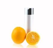Orange fruit skin care Royalty Free Stock Photography