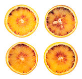 Orange fruit slice isolated Stock Photography