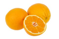 Orange fruit slice Royalty Free Stock Image