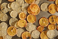 Orange fruit slices Royalty Free Stock Photography