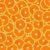 Orange slices orange background Royalty Free Stock Photography
