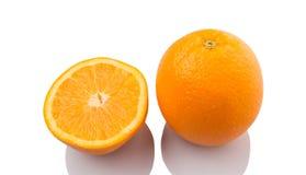 Orange Fruit And Slices III Royalty Free Stock Image