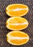 Orange Fruit Slices X Royalty Free Stock Image
