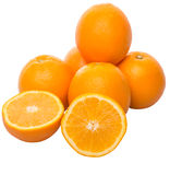 Orange Fruit And Slices V Royalty Free Stock Images