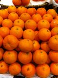 Orange. Fruit Sour Market Royalty Free Stock Images